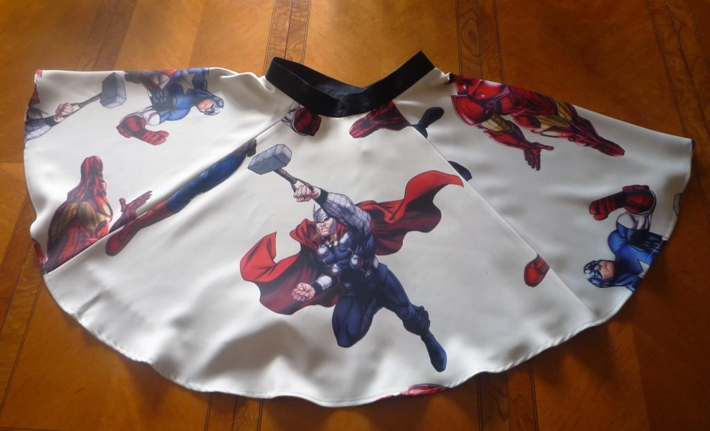 Avangers skirt front