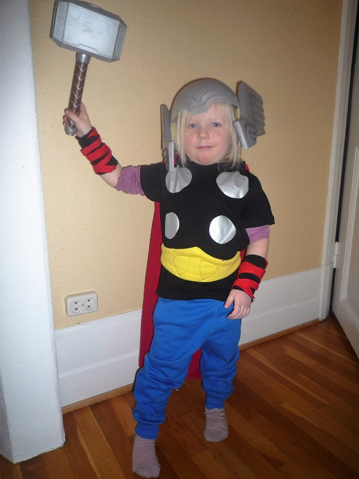 Thor child's cosutme